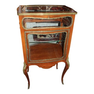 Antique French Vitrine