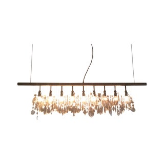 Original DWR Cellula 9-Bulb Chandelier