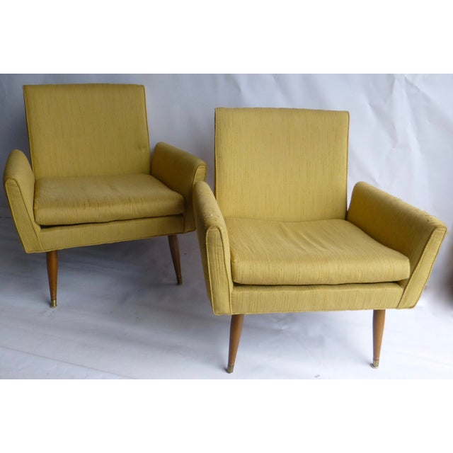 Image of Paul McCobb Vintage 1950s Armchairs - A Pair