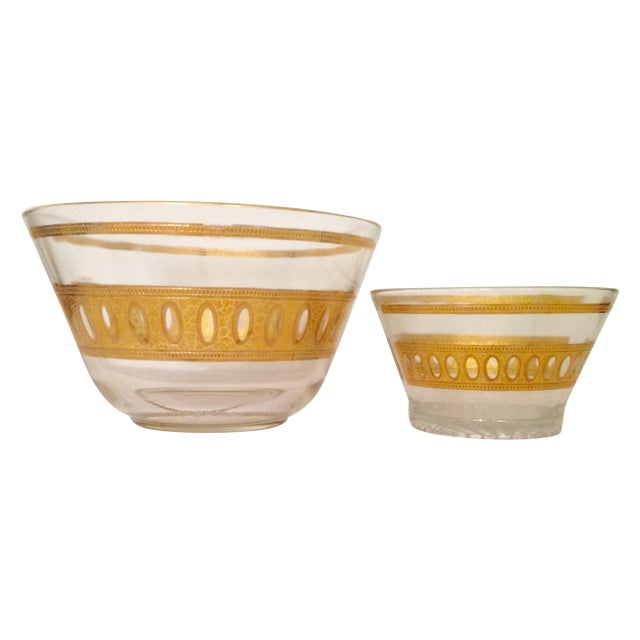 Vintage Culver Antigua Glass Bowls - A Pair - Image 1 of 8