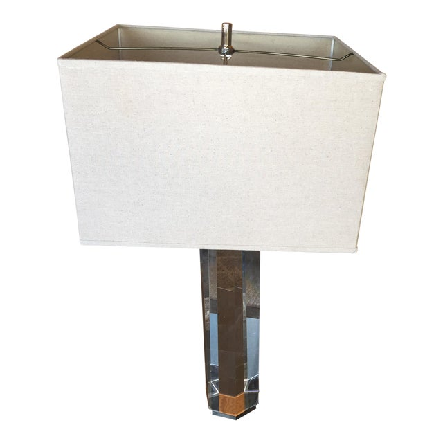 Restoration hardware hexagonal column crystal table lamp - Restoration hardware lamps table ...