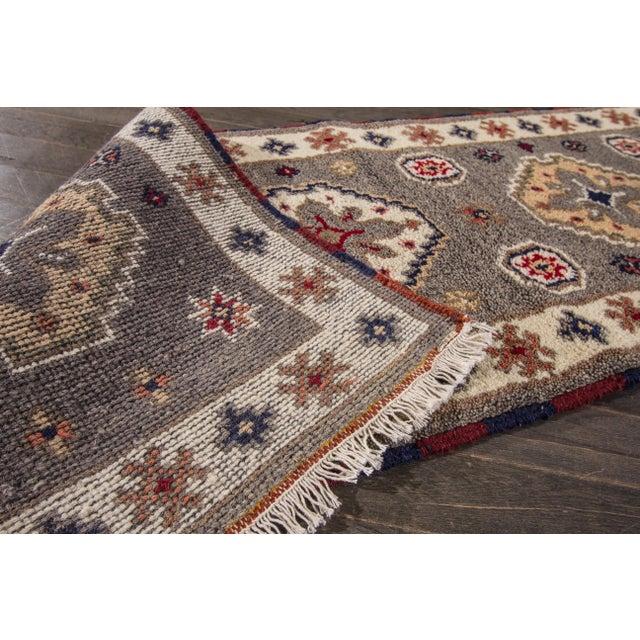 "Apadana - Modern Kazak Rug, 2'1"" x 6'6"" - Image 4 of 8"