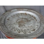 Image of Animal Engraved Brass Tray Table