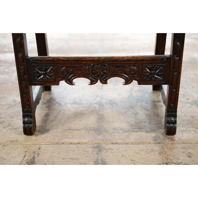Spanish Renaissance -Carved Side Chairs -A Pair - Image 10 of 10