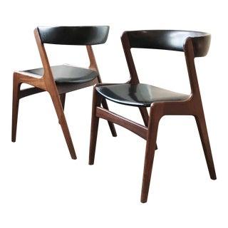 Kai Kristiansen Teak Dining Chairs - Set of 4