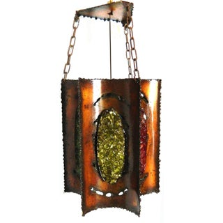 Vintage Jean Claude Accolay Lantern