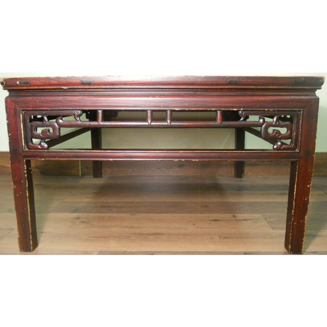 Antique Ming Coffee Table - Image 6 of 8