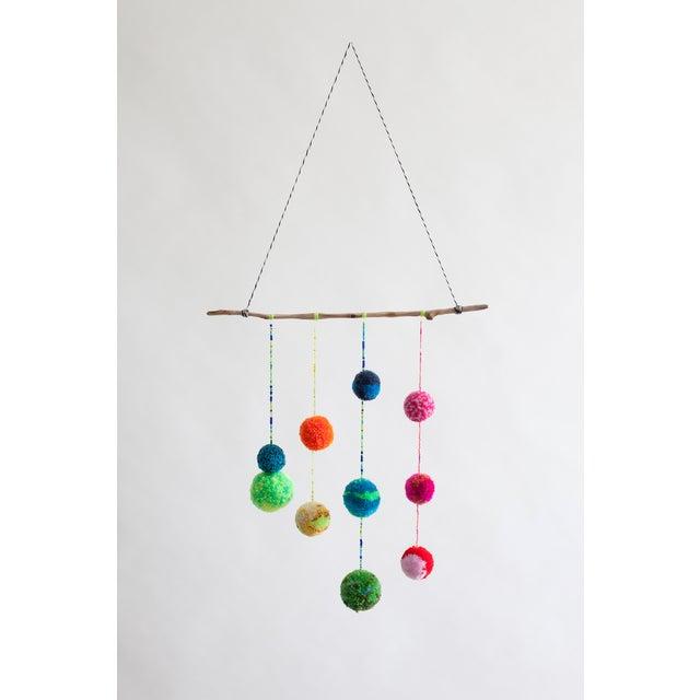 Image of Dana Haim Multicolor Pom-Pom Mobile