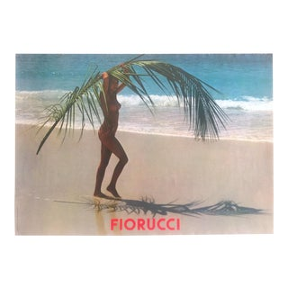 Original Vintage 1980 Fiorucci New Wave Italian Fashion Poster