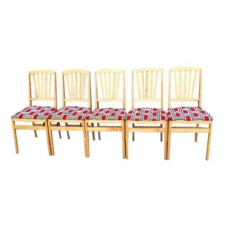 Stakmore Modern Folding Dining Chairs - Set of 5
