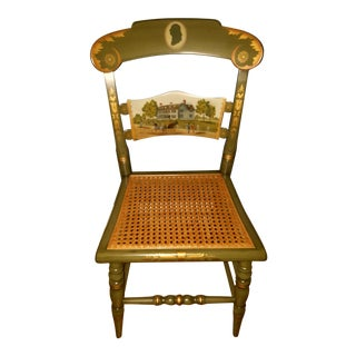 1976 Limited Edition John Adams Hitchcock Chair