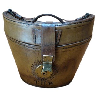 Canada & Robertson Leather Hatbox