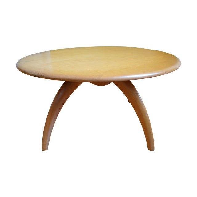 Heywood Wakefield Lazy Susan Coffee Table Chairish