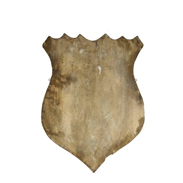 Vintage Hand-Crafted Patriotic Plaster Crest - Image 4 of 4