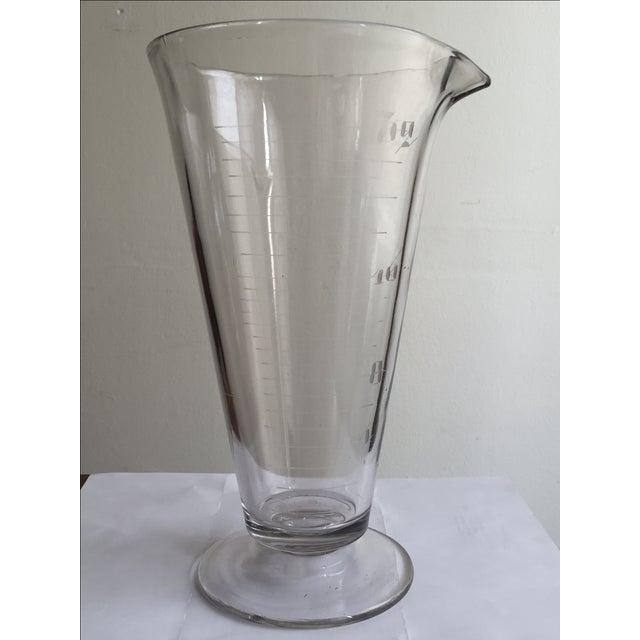 Vintage Lab Glass Vase - Image 4 of 6