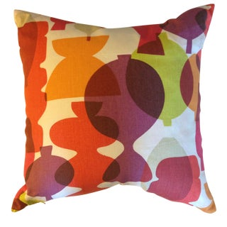 Pots Fabric Accent Pillows - A Pair