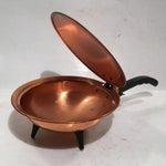 Image of Vintage Copper Footed Silent Butler