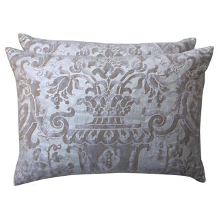 Fortuny Textile Pillows - A Pair