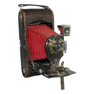 Kodak Red Bellow Folding Camera
