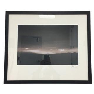 Henredon Showroom Framed & Matted Sepia Printed Photograph