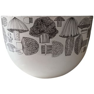 Kaj Franck Finel Arabia Mid-Century Mushroom Bowl