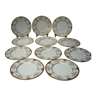 Ovington Bros. China Plates - Set of 11