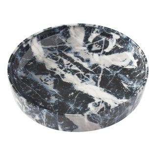 Alvino Bagni Faux Marble Ceramic Low Bowl