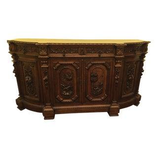 1880 Italian Oak Sideboard