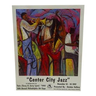 1997 Center City Jazz Poster