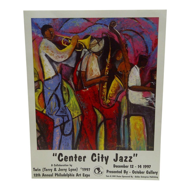 Image of 1997 Center City Jazz Poster