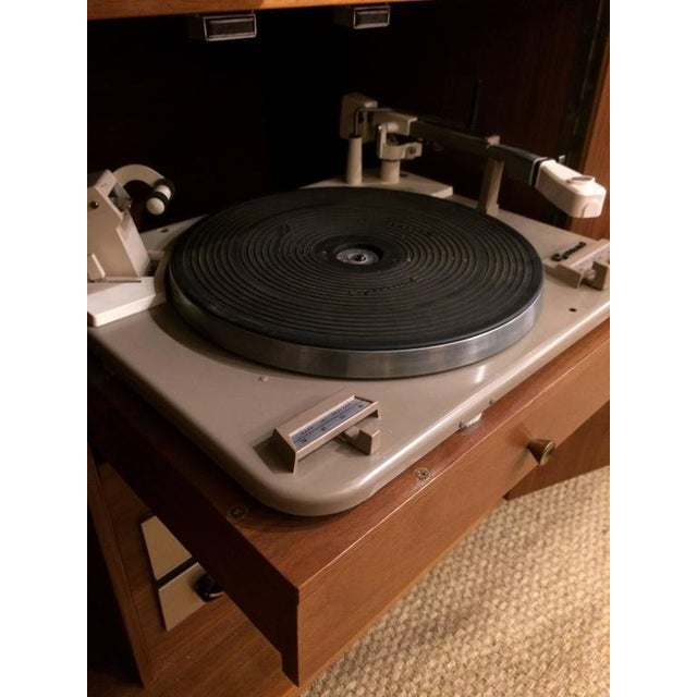 Mid-Century Modern Stereo Cabinet & Dry Bar - Image 7 of 9