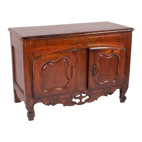 French Provençal Fruitwood Buffet With Carved and Pierced Skirt - Image 1 of 10