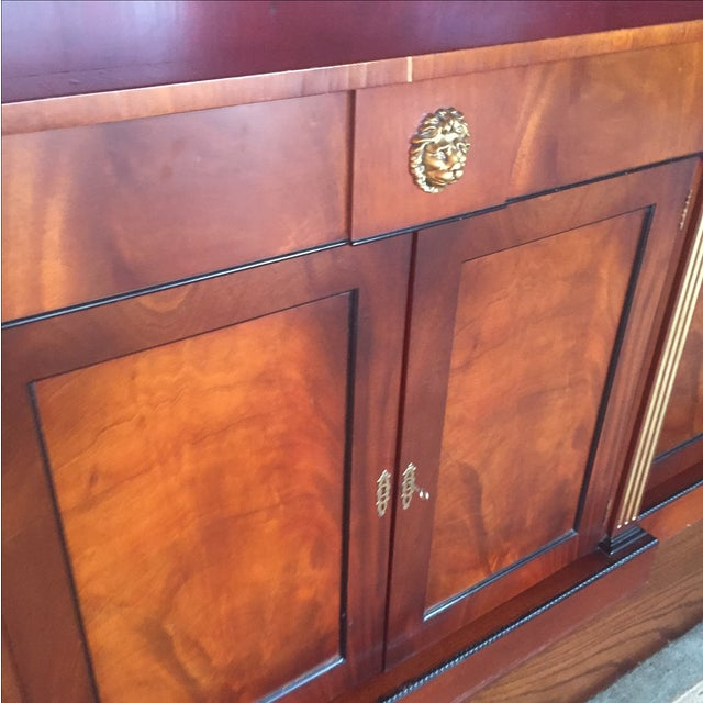 Image of Flame Mahogany Side Cabinet