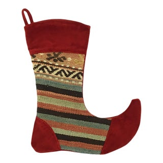 Kilim Christmas Stocking | June