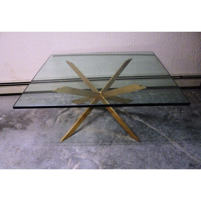 Pace Collection Double X Coffee Table Base - Image 2 of 11