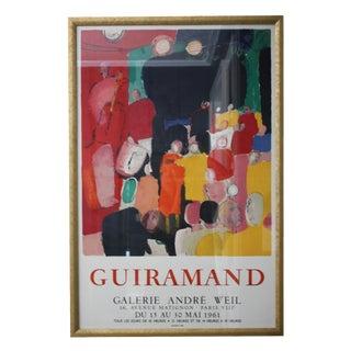 Guiramand Exhibition Poster, 1961