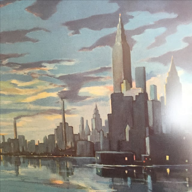 Blumenthal Cityscape Framed Print - Image 4 of 4