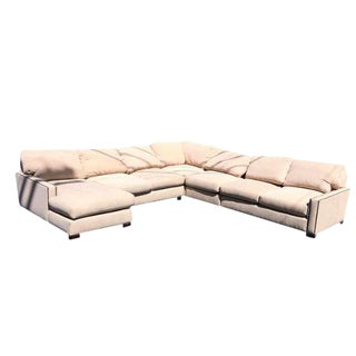 Studded, Five-PIece Turner Sectional in Desert Tweed, Pottery Barn
