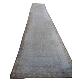 Antique European Donegal Carpet - 5'9'' x 31'