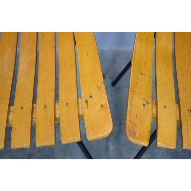 Arthur Umanoff Raymor Mid-Century Slat Chairs, Set/4 - Image 9 of 9