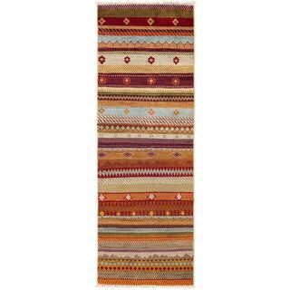 """Lori, Hand Knotted Runner Rug - 2' 1"""" x 5' 9"""""""