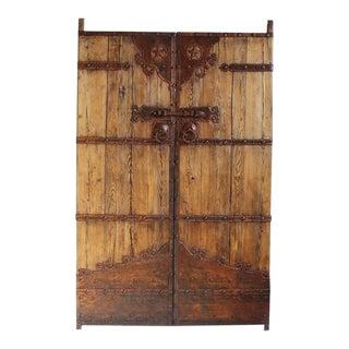 Antique Mongolian Door