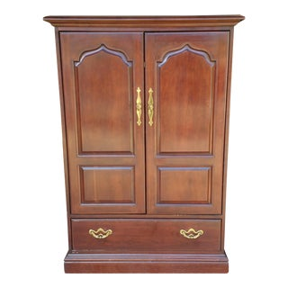 Thomasville Traditional Cherry Media Armoire