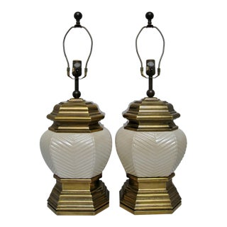 Chapman Chinoiserie Lamps - A Pair