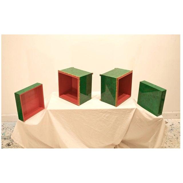 Faux Malachite Boxes - a Pair - Image 7 of 8