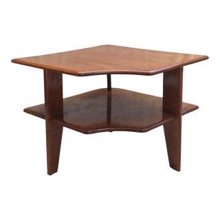 Heywood-Wakefield 3 Legged Corner Table