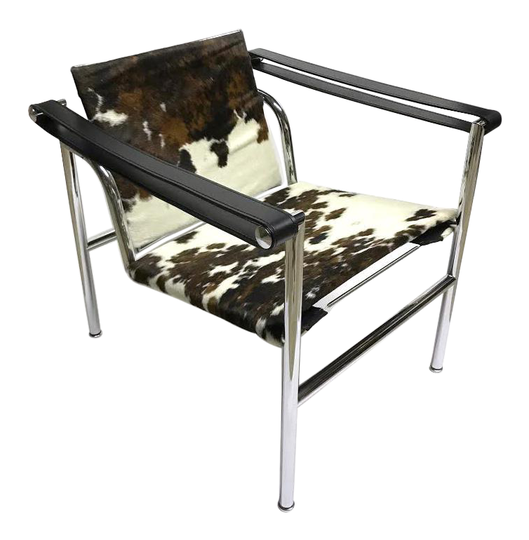 LC1 Cowhide Sling Chair