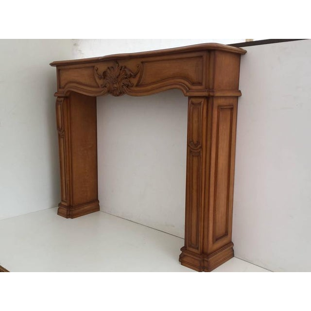 Carved Architectural Fireplace Mantel - Image 2 of 7