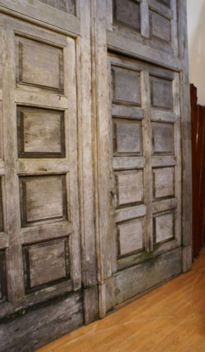 Image of A Massive Pair of Italian Winery Doors circa 1900  sc 1 st  DECASO & Incredible A Massive Pair of Italian Winery Doors circa 1900 | DECASO pezcame.com