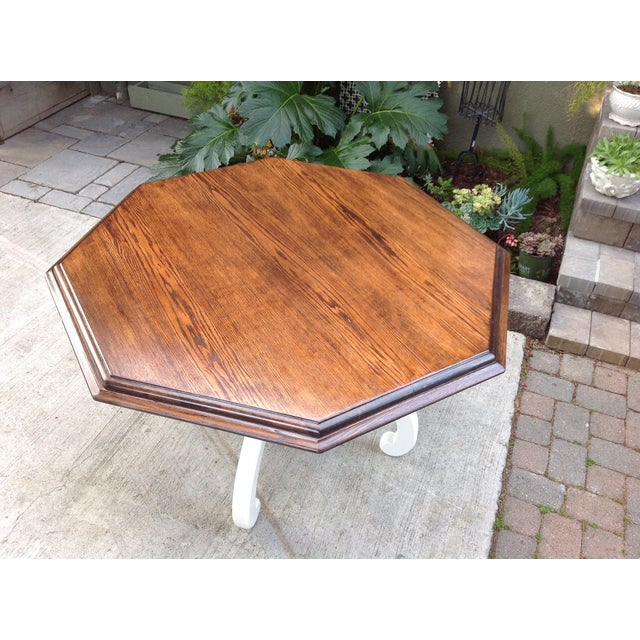 Vintage Octagonal Table - Image 4 of 5